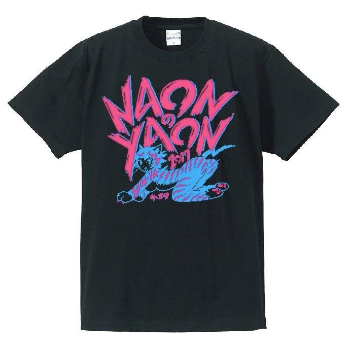 Tシャツ・NAONのYAON・ブラック
